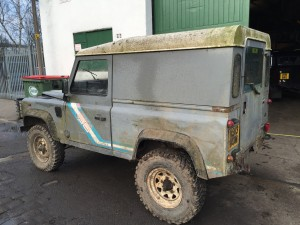 Defender Chassis Project