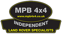 MPB 4×4 INDEPENDENT LAND ROVER SPECIALISTS